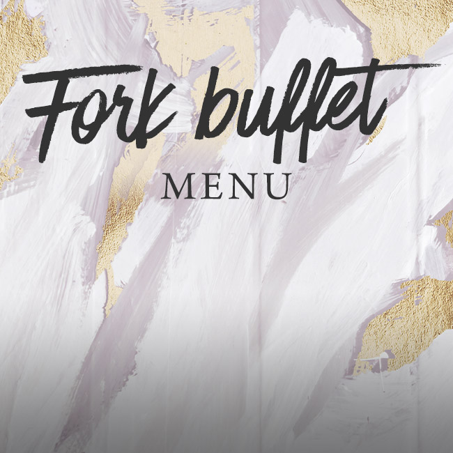 Fork buffet menu at The Pine Marten