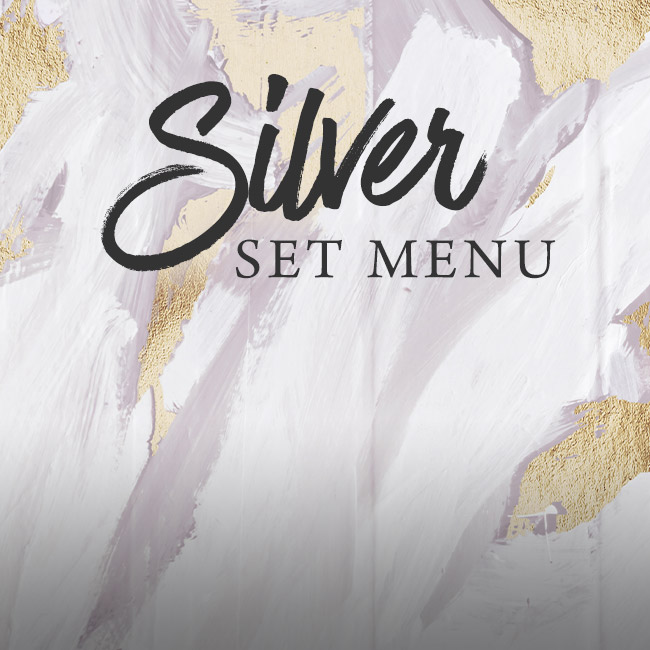 Silver set menu at The Pine Marten