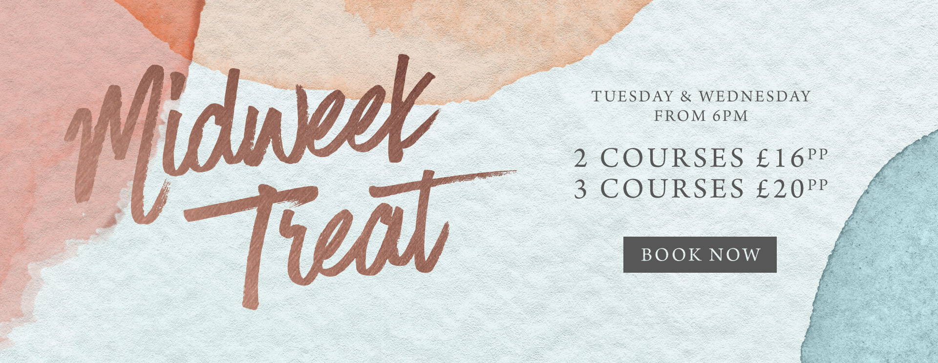 Midweek treat at The Pine Marten - Book now
